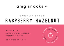 Load image into Gallery viewer, RASPBERRY HAZELNUT BITES