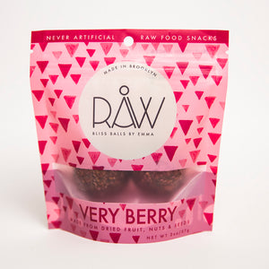 RAW VERY BERRY - 4 PACK