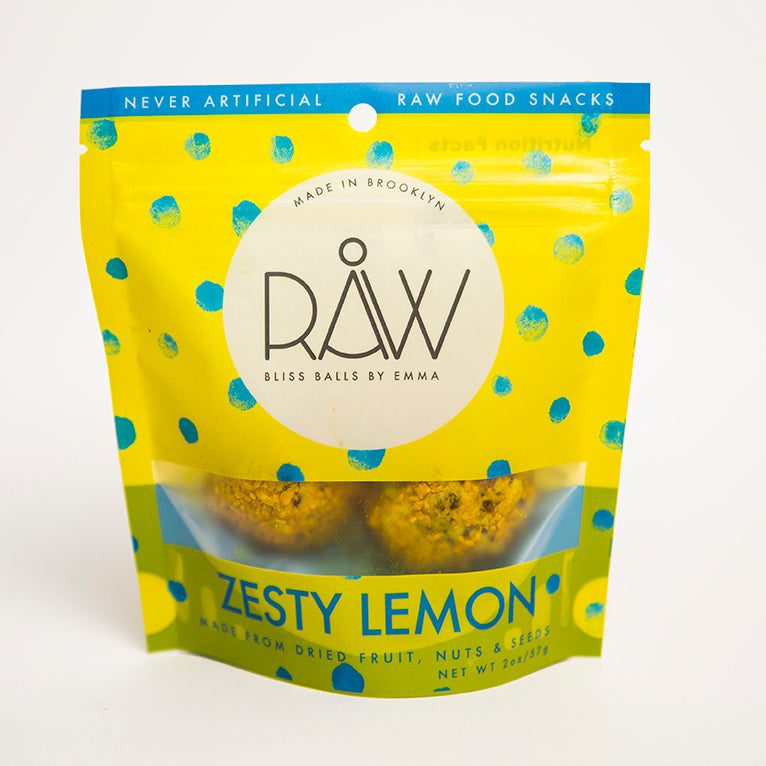 RAW ZESTY LEMON - 4 BAGS