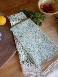 KITCHEN TOWEL VEGGIES