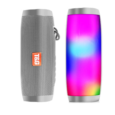 Colorful Glowing Lights Powerful Portable Bluetooth Speaker