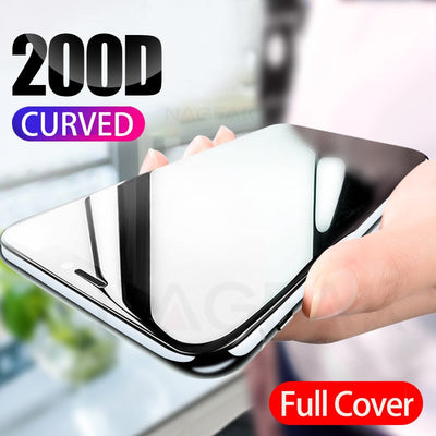 Curved Full Glass iPhone Screen Protector