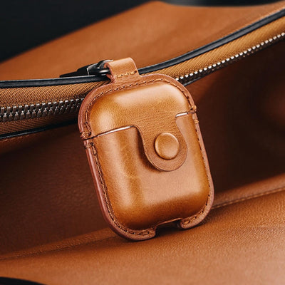 Leather Headphone Case For Airpods