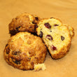 Orange Cranberry Scones (pair)