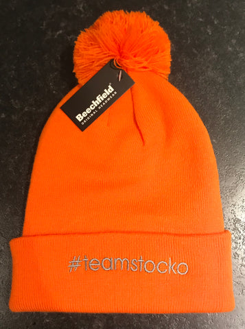 #teamstocko bobble hat!! (Orange)