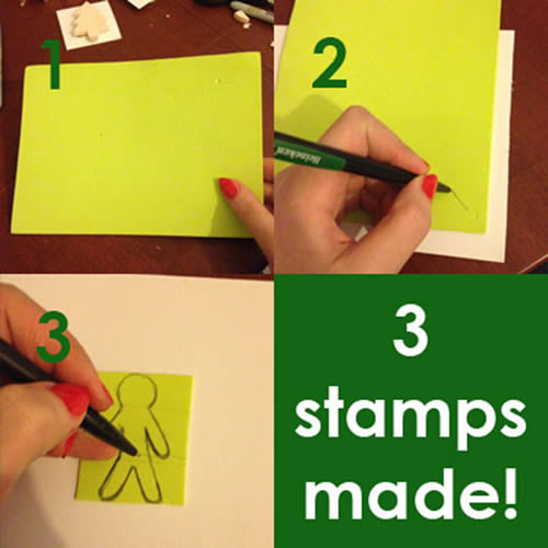 Making The Stamps continued...and then some