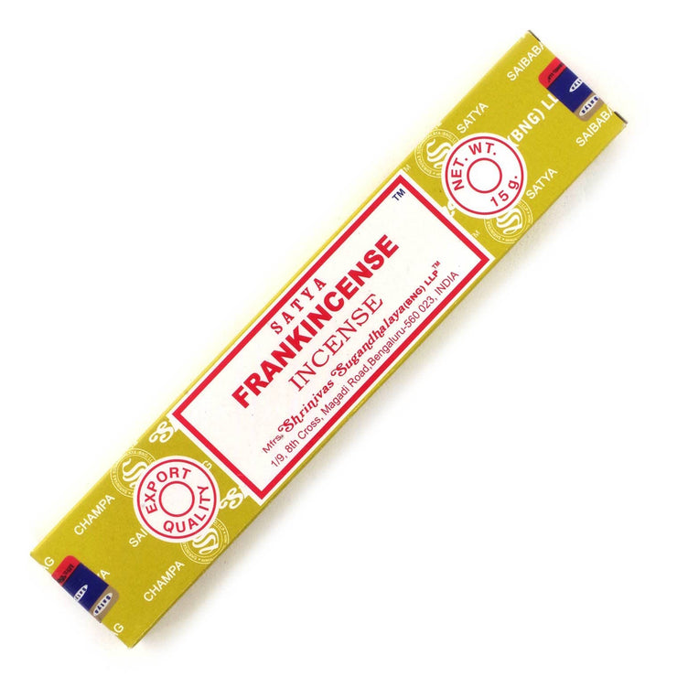 Satya Frankincense Joss Sticks