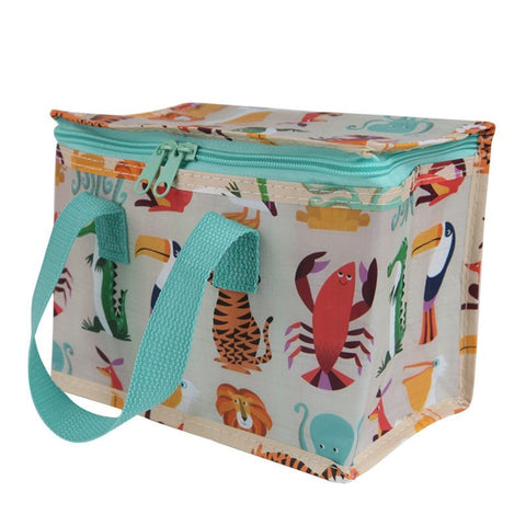 Exotic Creatures Recycled Insulated Lunch Bag