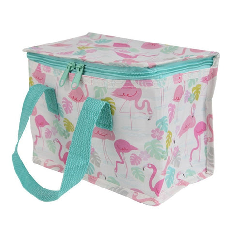 Tropical Flamingo Recycled Insulated Lunch Bag