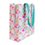 Tropical Flamingo Recycled Shopper Bag