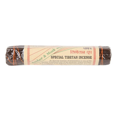 Amber and Musk Incense