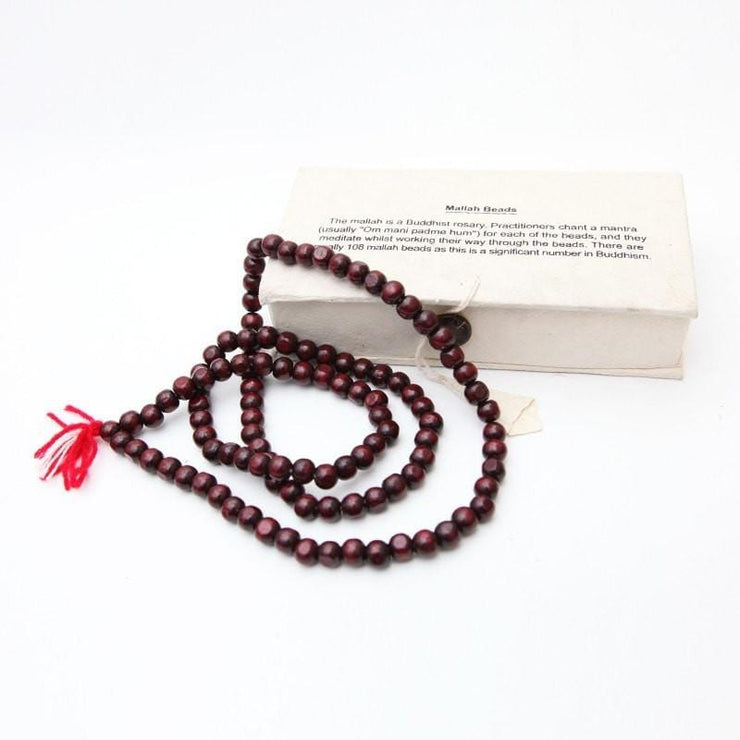 Wooden Mallah Beads With Box