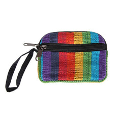 Padded Rainbow Coin Purse