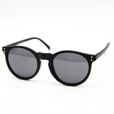 Matte & Shine Round Sunglasses