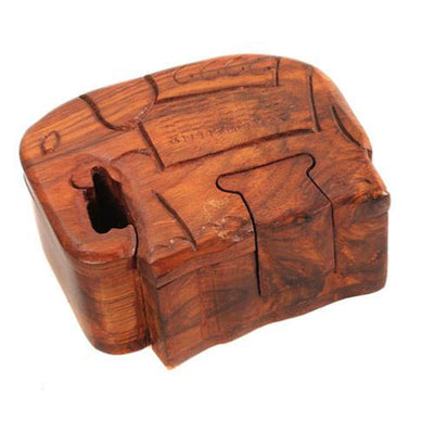 Fair Trade Elephant Puzzle Box