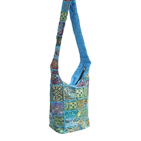 Recycled Sari Slouch Bucket Bag