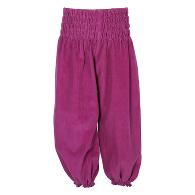Kids Corduroy Harem Pants