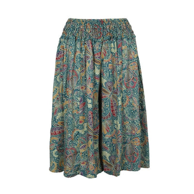 Knee Length Kupu Culottes