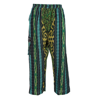 Ikat Dyed Trousers..