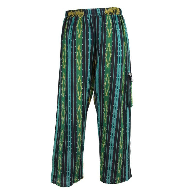 Ikat Dyed Trousers