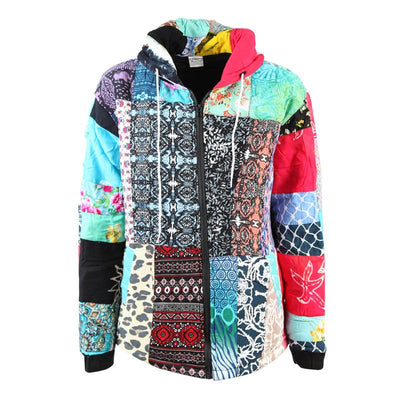 Bright Bali Patchwork Jacket