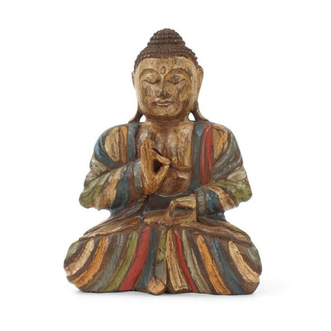Rustic Wooden Buddha