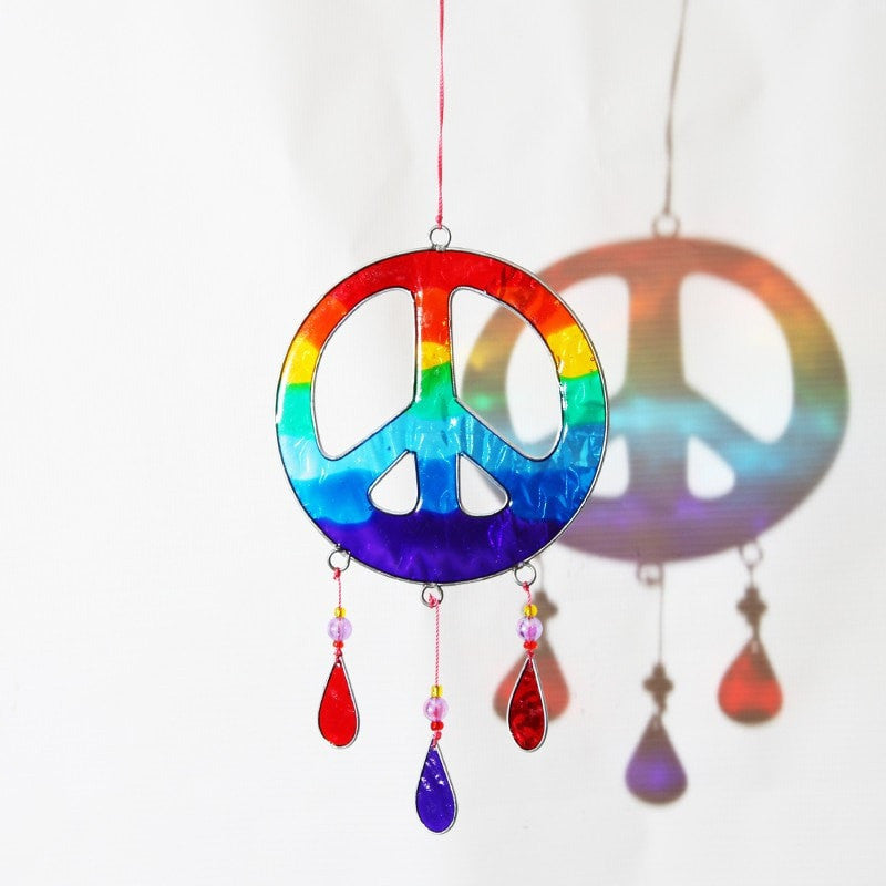 Peace CND Suncatcher