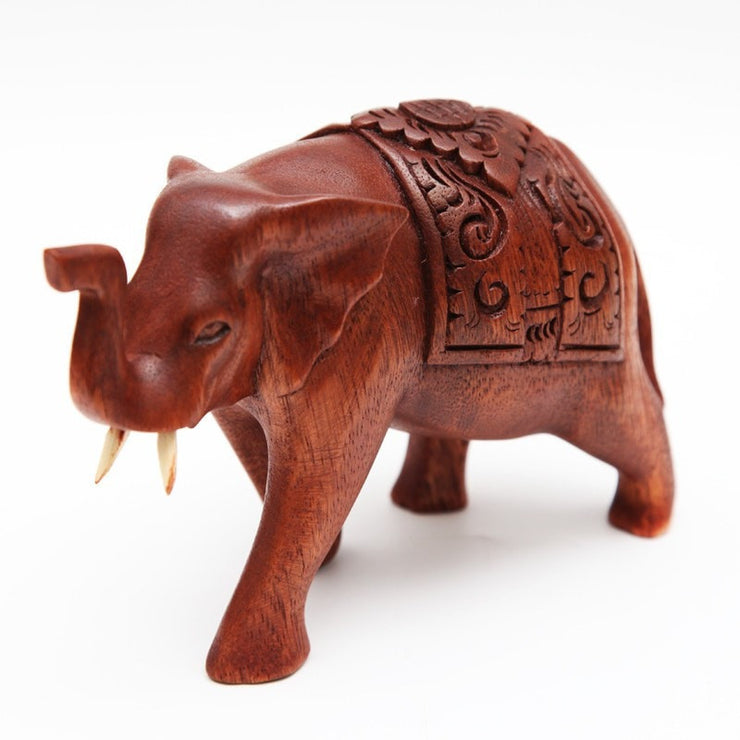 Wooden Elephant Ornament