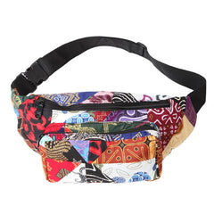 Men's Bali Patchwork Bum Bag