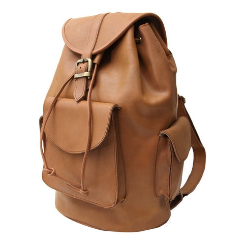 Gringo Men's Leather Backpack