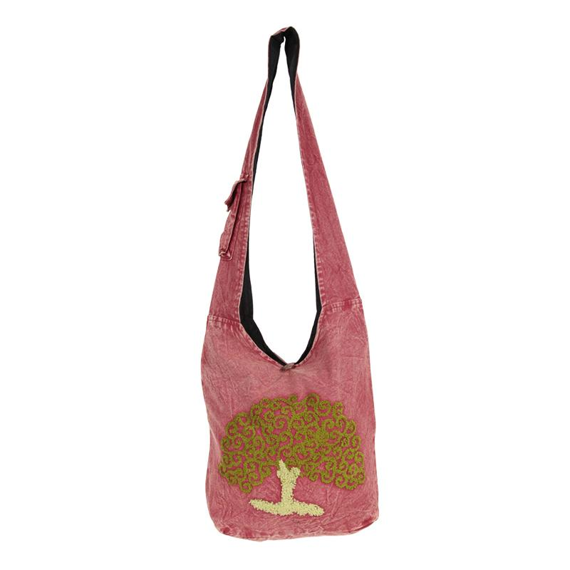 Tree Of Life Slouch Shoulder Bag