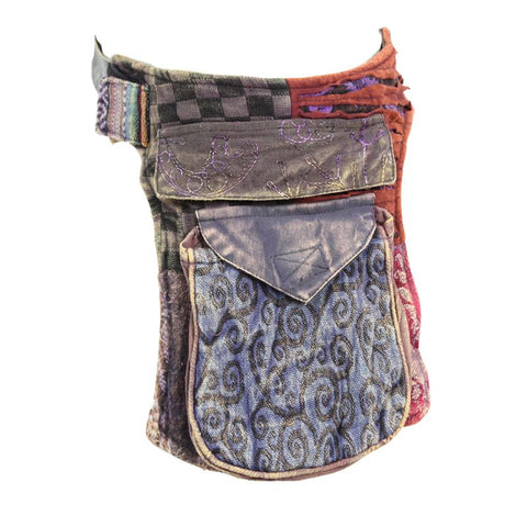 Patchwork Hip Bag