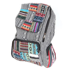 Men's Patchwork Gheri Backpack