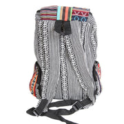 Patchwork Gheri Multi Pocket Backpack