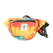 Hemp Tie Dye Bum Bag