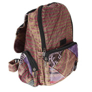 Cotton Patchwork Backpack