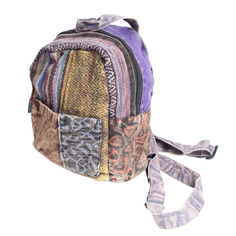 Acid Wash Mini Backpack