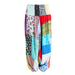 Gypsy Patchwork Relaxed Harem Pants