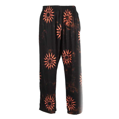Men's Batik Sun Pattern Trousers