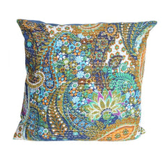 Paisley Kantha Embroidered Cushion Covers