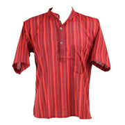 Men's Short Sleeve Grandad Shirts..