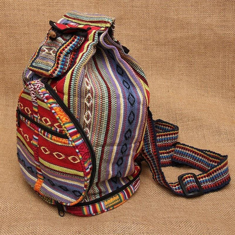 Foldable Travel Triangle Backpack