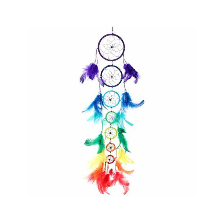 Rainbow Hanging Dreamcatcher