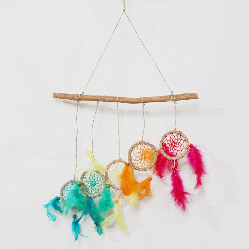 Rainbow Multi Dreamcatchers