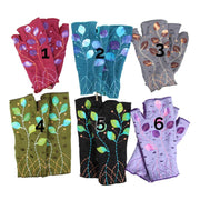 Embroidered Wrist Warmers