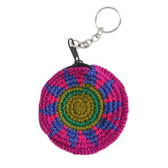 Mini Round Crochet Purse