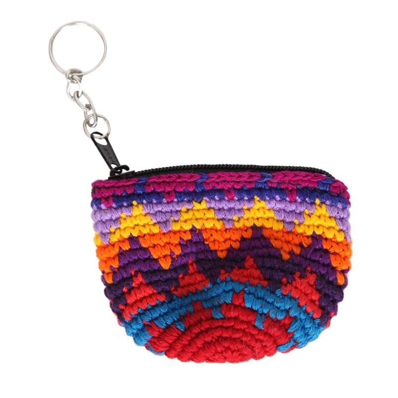 Half Moon Keyring Purse