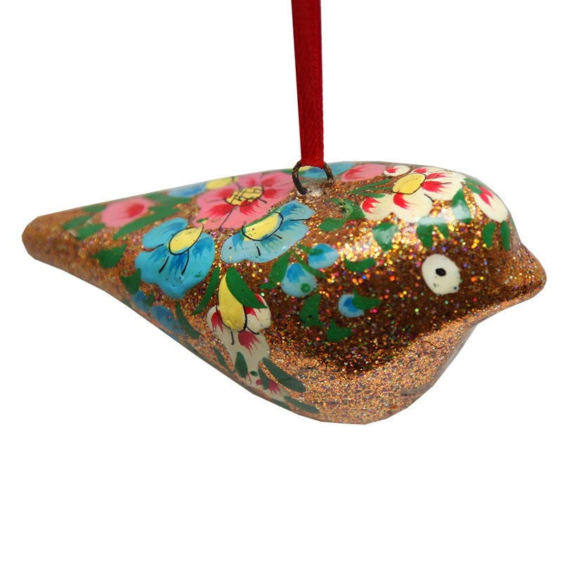 Glitter Bird Decoration
