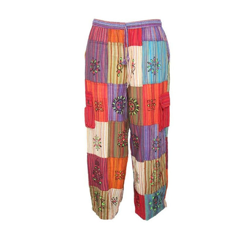 Gringo Multicoloured Handpainted Trousers