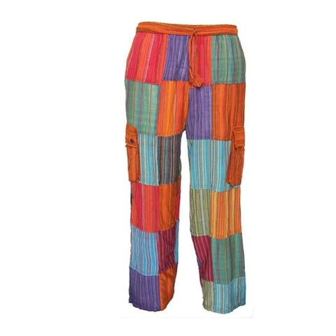 Gringo Plain Patchwork Trousers